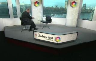 The Andrew Neil show Boris Johnson appearance