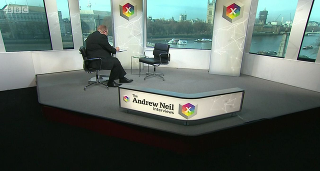 The Andrew Neil show Boris Johnson appearance