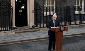 10 Downing street Boris Johnson