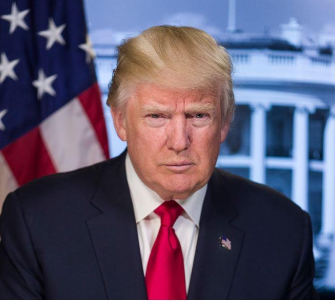 Donald Trump USA flag