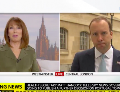 Media training lessons from Kay Burley's scrap with Matt Hancock over Tony Abbott