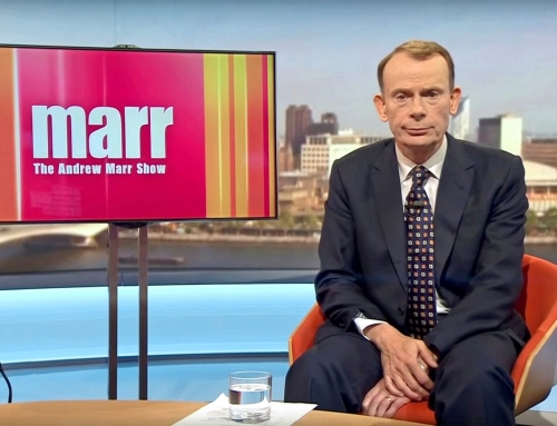 "Andrew Marr asks a scientist that classic journalist's question ""How did it feel?"""