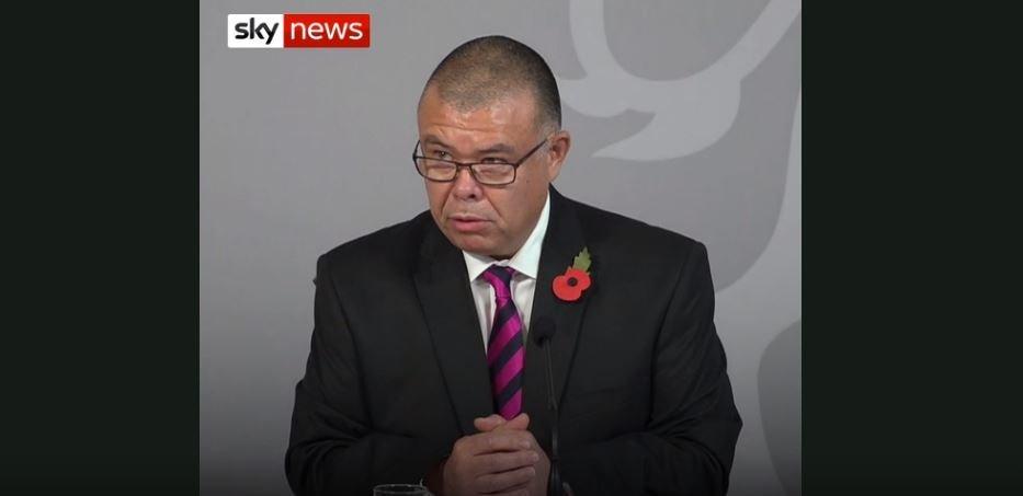 Jonathan Van-Tam conference Sky News