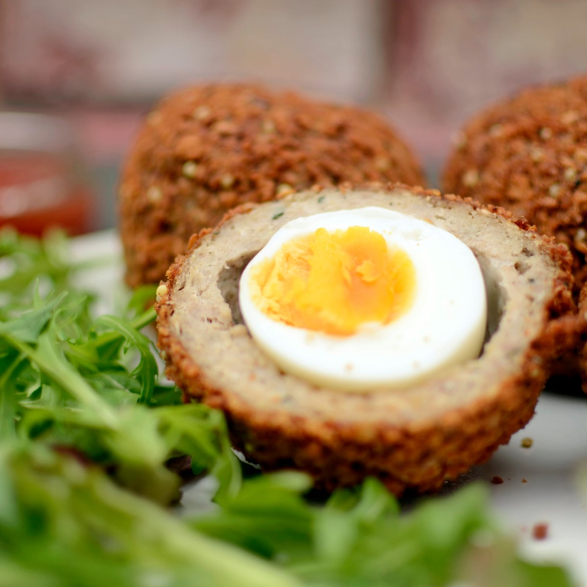 Eggs Salad scotch egg