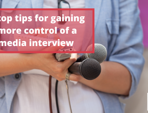 How to gain control of a media interview