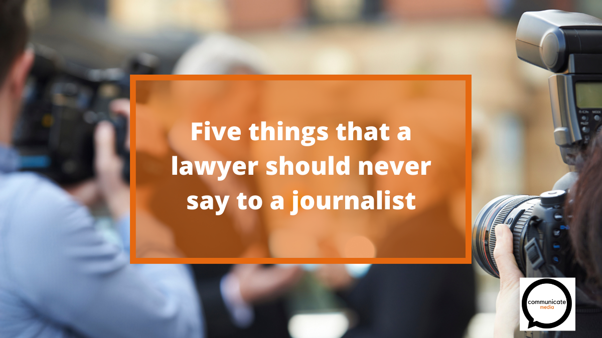camera interview lawyer should never ask
