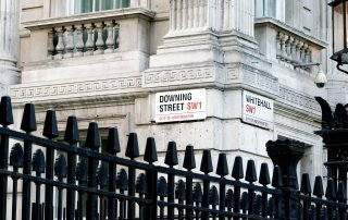 marble white downing street SW1 media brief